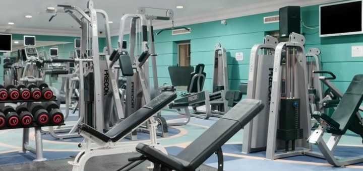 LivingWell Gym at the Hilton, Malta.