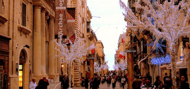 Christmas Spirit in Valletta