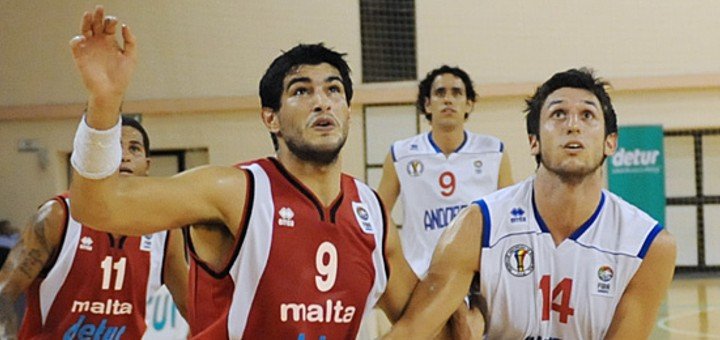 Dirk Schembri, professional basketball player in Malta.