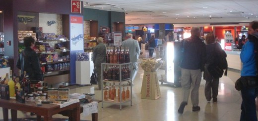 Duty Free Shops at Malta International Airport.