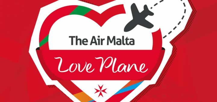 The love plane, Air Malta.