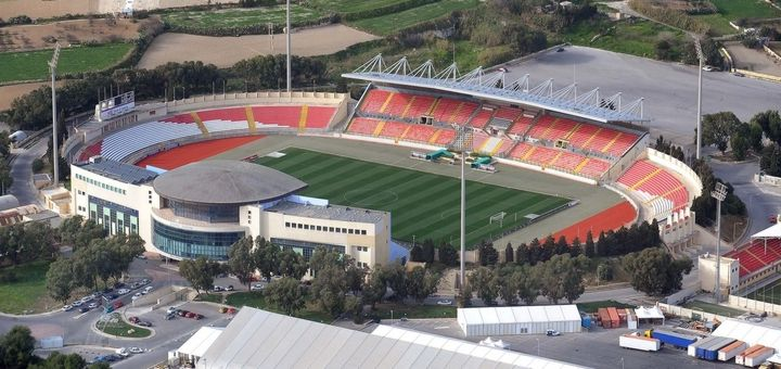 Live scores from the Malta national football stadium.