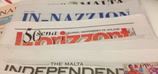 Maltese Newspapers.