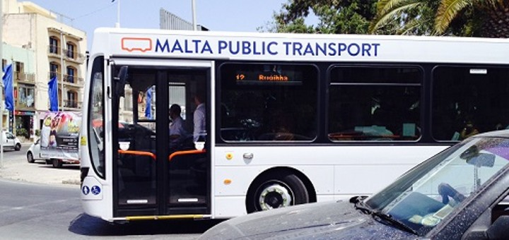 Public transport in Malta.