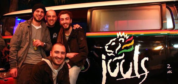 Reggae music at Juuls bar in Malta.