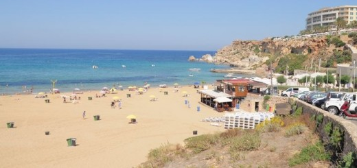 Golden Sands is one of the most popular sandy beaches in Malta.
