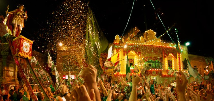 Maltese Parish Festa in Hal Qormi