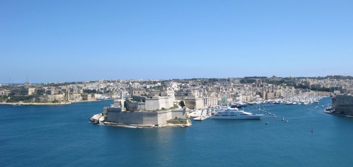 Fort Saint Angelo, Malta.