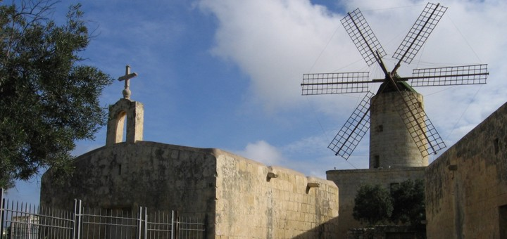 Windmills in Malta