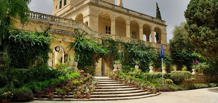 San Anton Palace and Gardens, Malta.