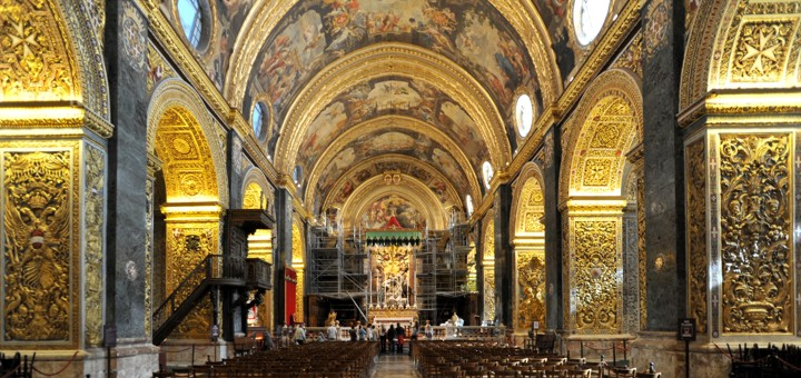 Important Churches in Valletta