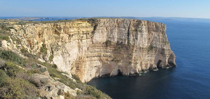 Ta' Ċenċ Cliffs in Gozo