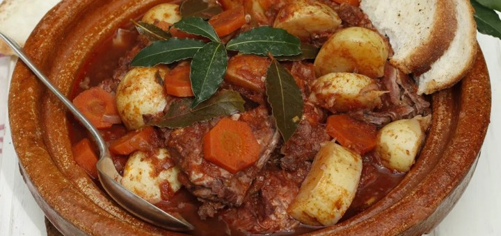 Maltese rabbit stew is a national signature dish.