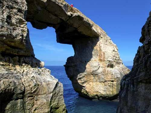 Remembering the Azure Window and discovering the Wied il-Mielaħ Arch
